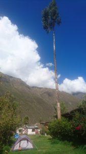 Camping at Casa Quechua, Ollantaytambo