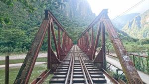 Rail Bridge between Hydro Electrica and Aguas Calientes