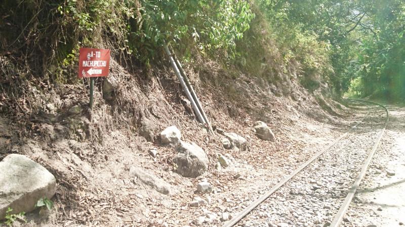The main line to Machu Picchu