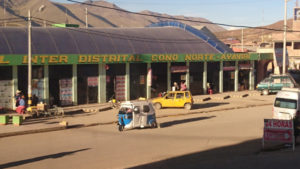 Ayaviri Bus Terminal, Peru