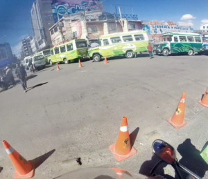 El Alto, blockade