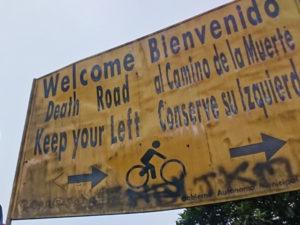 El Camini de la Muerte, Death Road , Bolivia