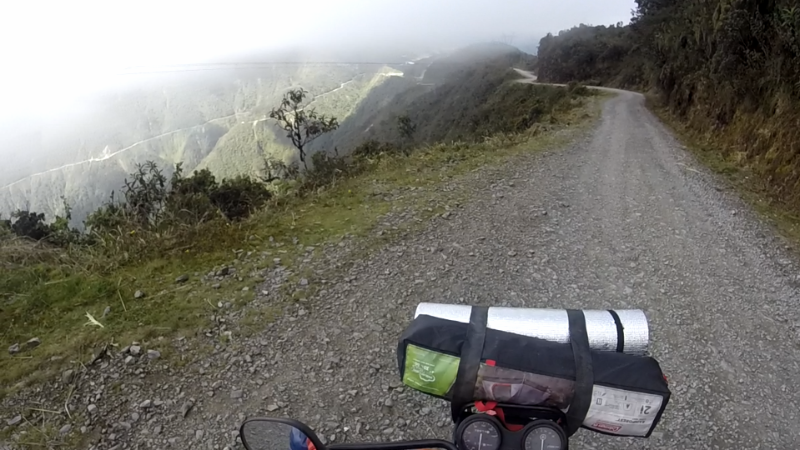 North Yungas Road, El Camino de la Muerte, Bolivia