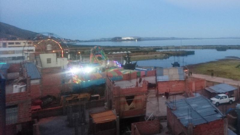 Puno fairground, Titicaca