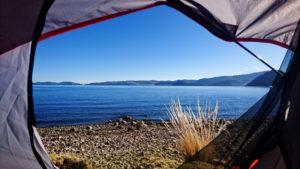 Wild Camping Titicaca