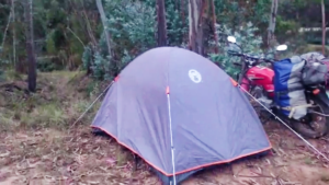 Wild Camping, Bolivia