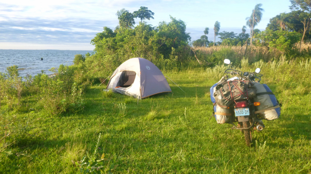 San Cosme Y Damian Wildcamping