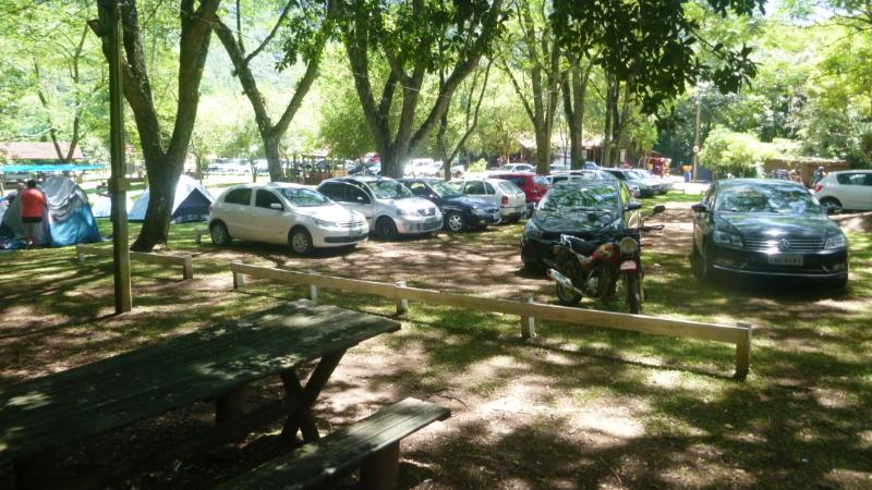Parque Laranjeiras campsite.