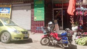 El Condor and the Eagle Cafe, Copacabana