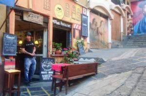 Higher Ground Cafe, Calle Tarija, La Paz,