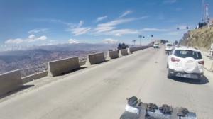 The La Paz loop. route 3 to El Alto