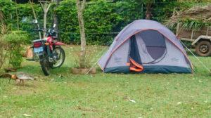 Camping at Pousada do Peralta