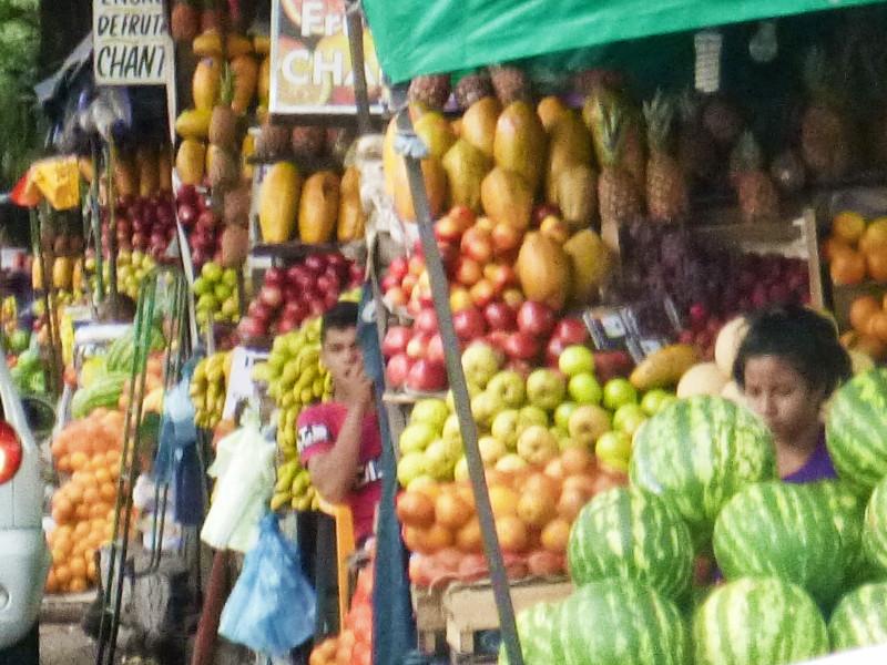 Asuncion Fruit stall